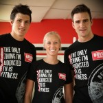 A photo of the GetFit Johannesburg team - Warren van Vuuren, Lesley Grindrod & Justin van Vuuren