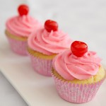 Cherry Lime Cupcakes made by Shelley burt for All Things Pretty