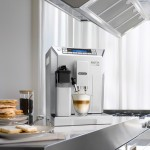 Image of the new DeLonghi Eletta coffee machine
