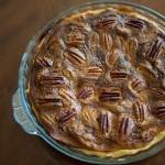 pecan nut pie – Justin Bonello style