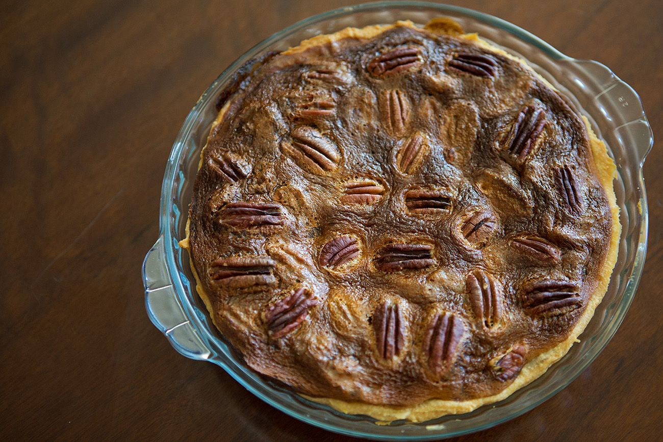 Pecan Nut Pie - Justin Bonello's Recipe