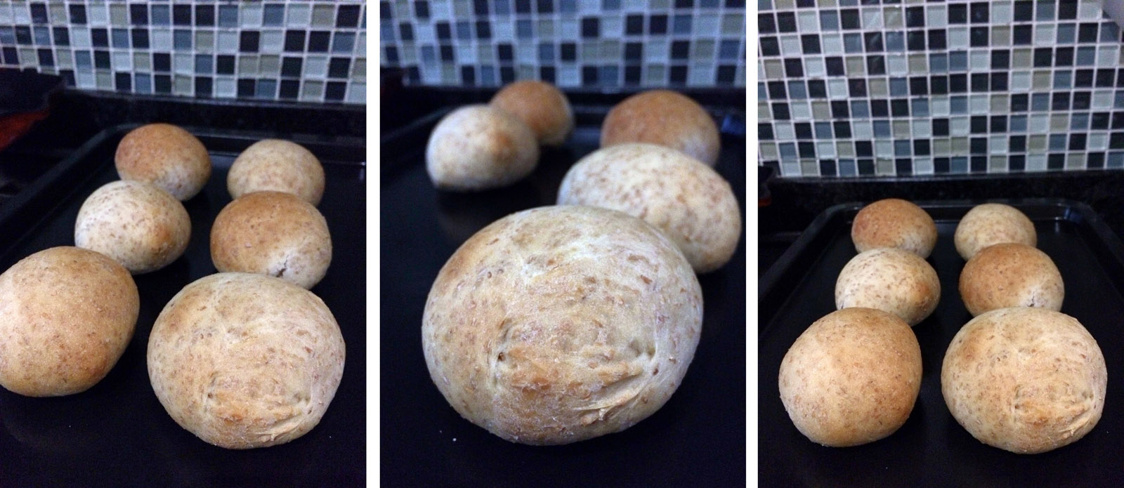 Wholewheat Bread Rolls