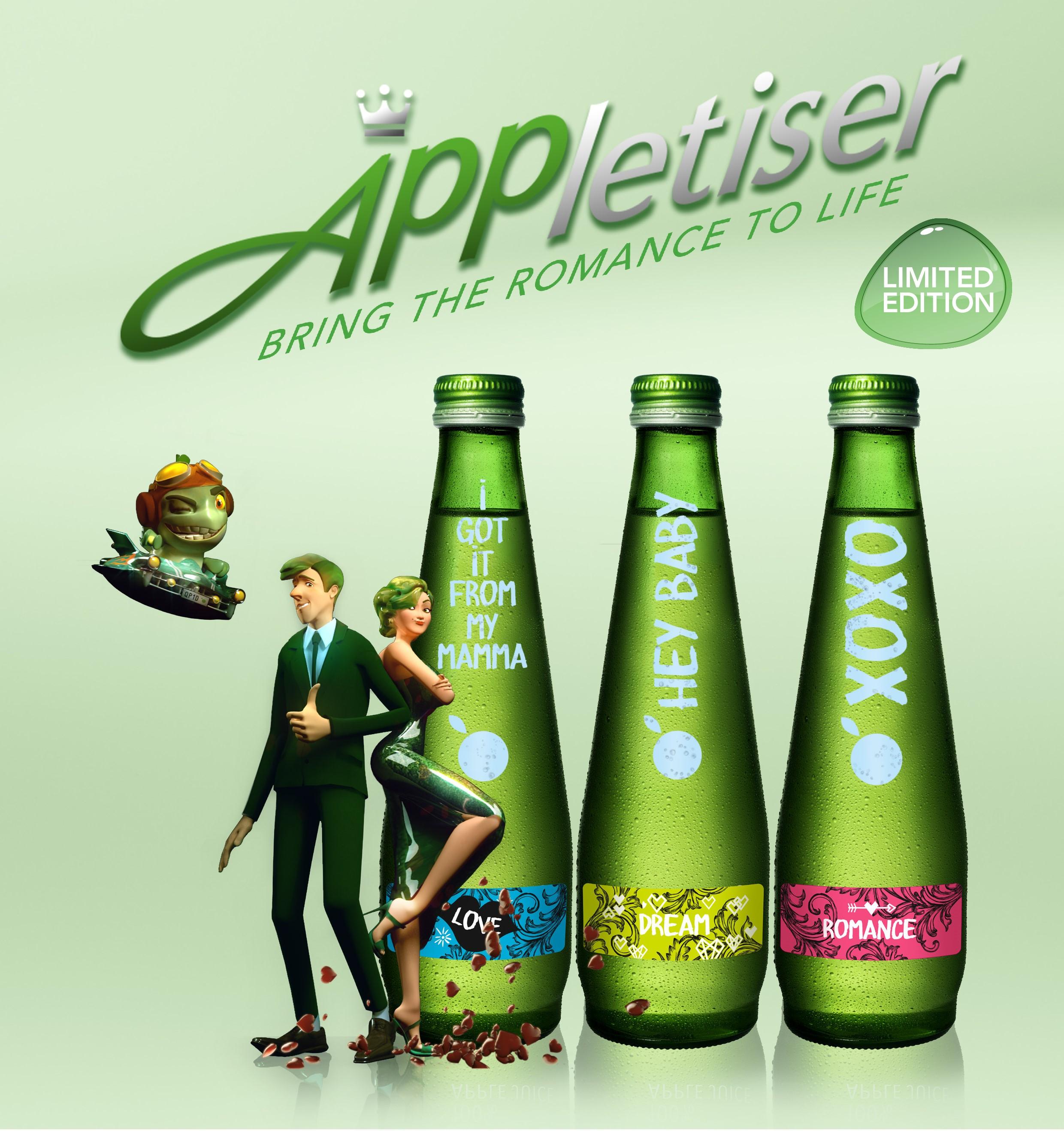 Appletiser romance image