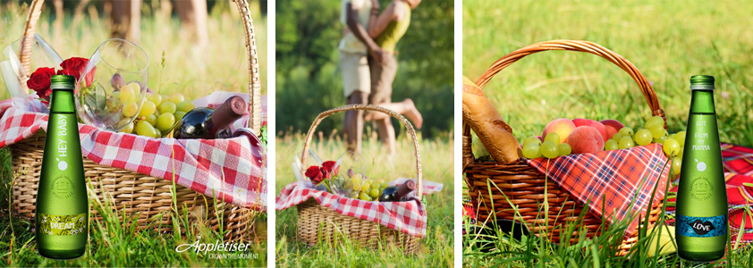 Win a romantic Appletiser picnic - please note the images are generic and not my own