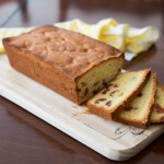 Sliced Cherry Madeira Cake