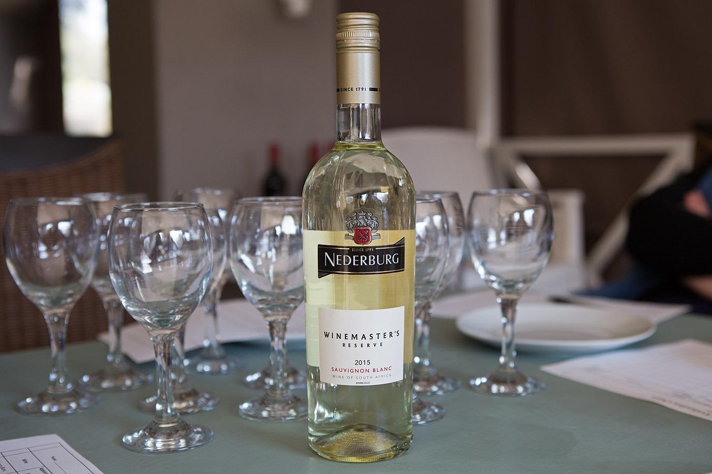 Nederburg Winemaster's Reserve Sauvignon Blanc 2015