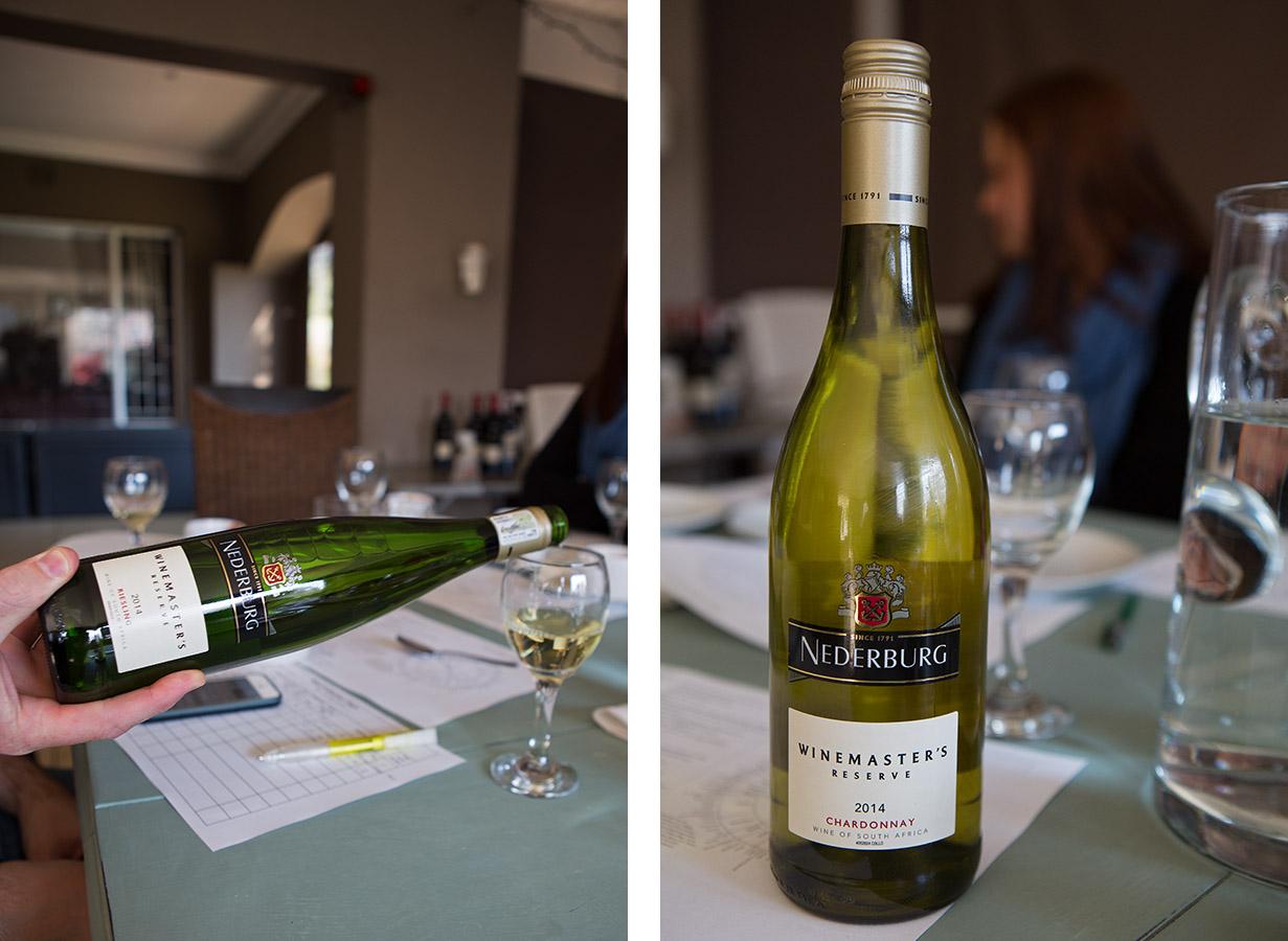 Nederburg Winemaster's Reserve Riesling 2014 & Nederburg Winemaster's Reserve Chardonnay 2014