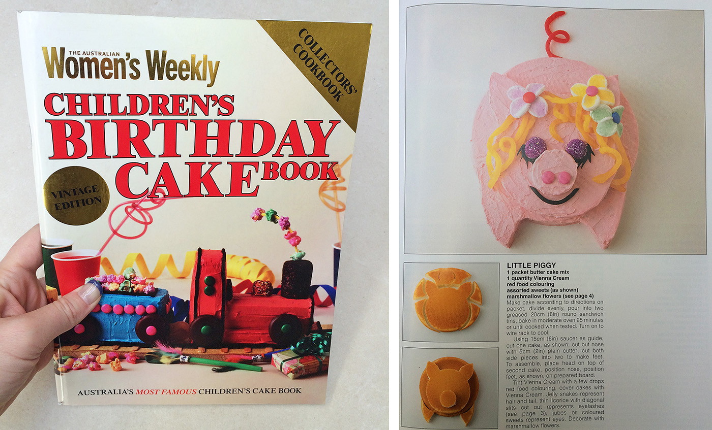 Women's Weekly Chilren's Birthday Cakes Book