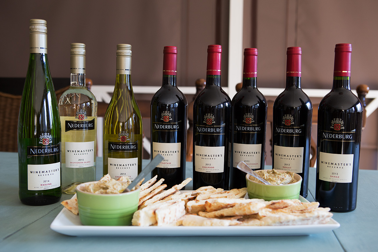 Nederburg Winemaster's Reserve White & Red Wine Collection