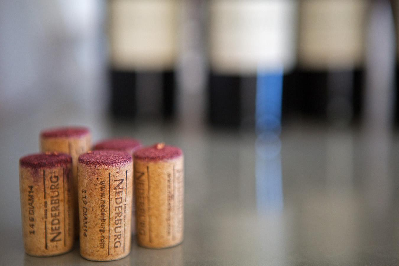 Nederburg Winemaster's Reserve Red Wine corks