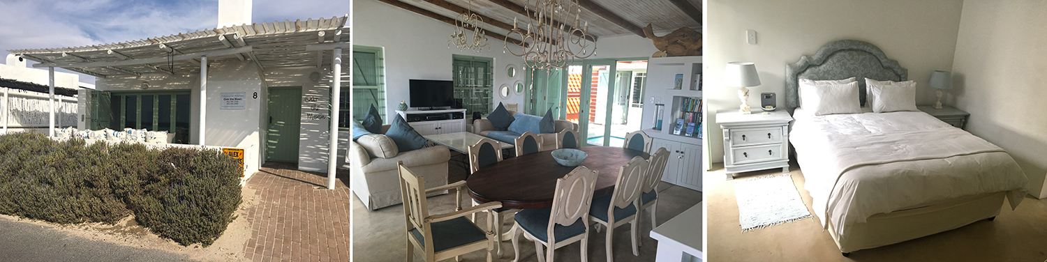 The house we rented : Over the Moon in Paternoster