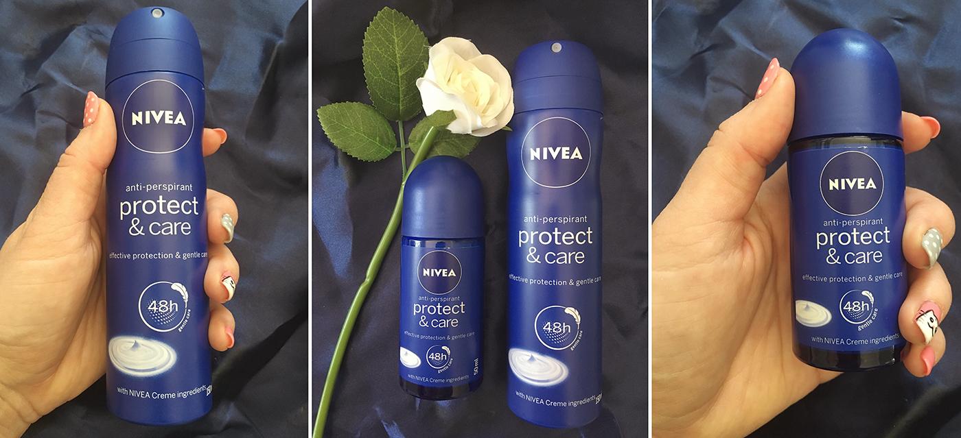 NIVEA deodorant Protect & Care