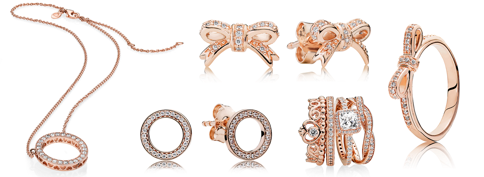 Pandora Rose Collection Blushing With Style