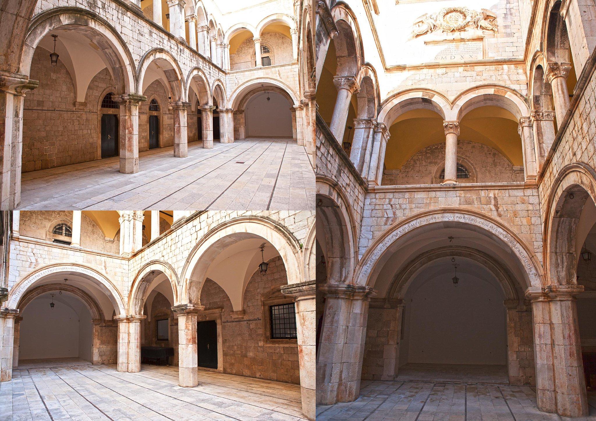 Inside Sponza's Palace