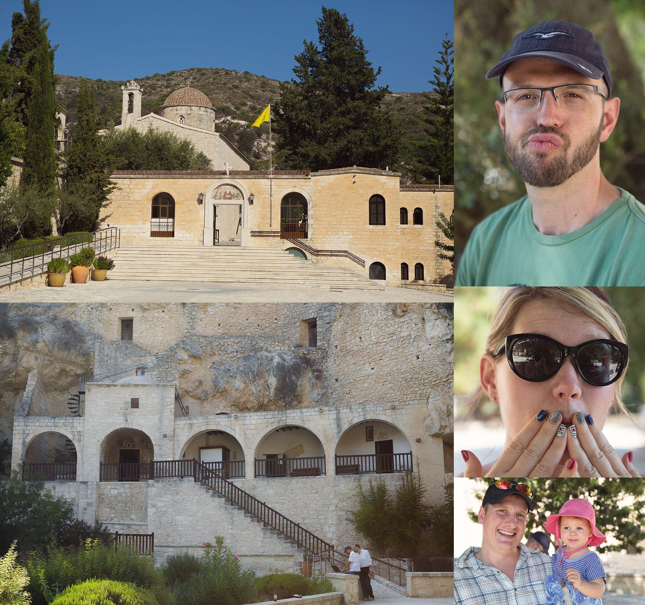 Agios Neophytos Monastery in Cyprus