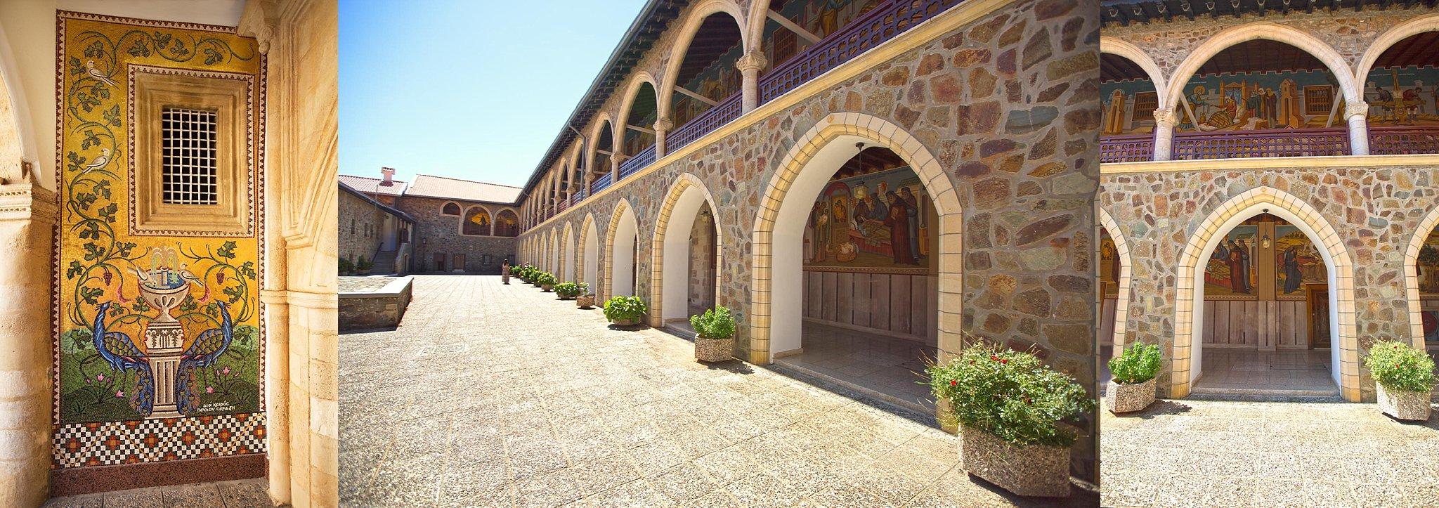 Kykkos Monastery in Cyrpus