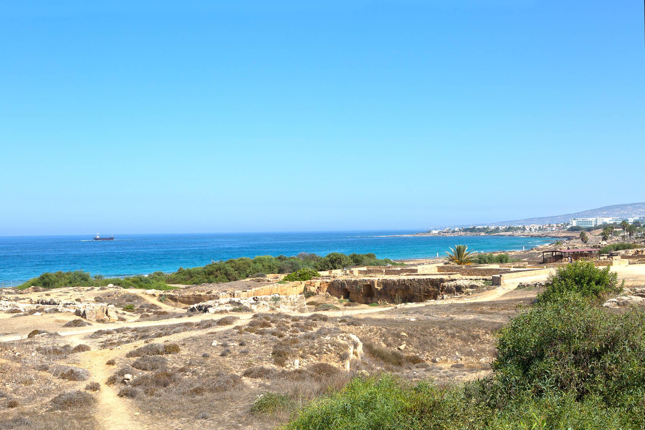 Tombs of the Kings in Paphos ,Cyprus