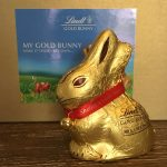 My personalized LINDT GOLD BUNNY