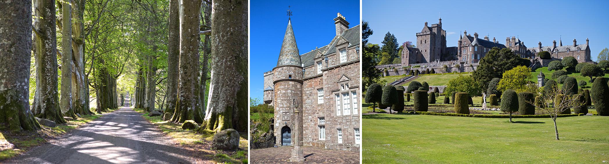 Drummond Castle, Perthshire Scotland